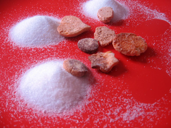 Une recette de sablés roulés au sucre
