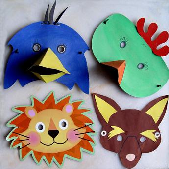 masques des animaux de l arche de no point kt. Black Bedroom Furniture Sets. Home Design Ideas