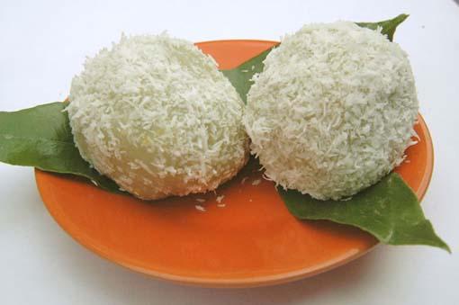 Boules coco pandanus