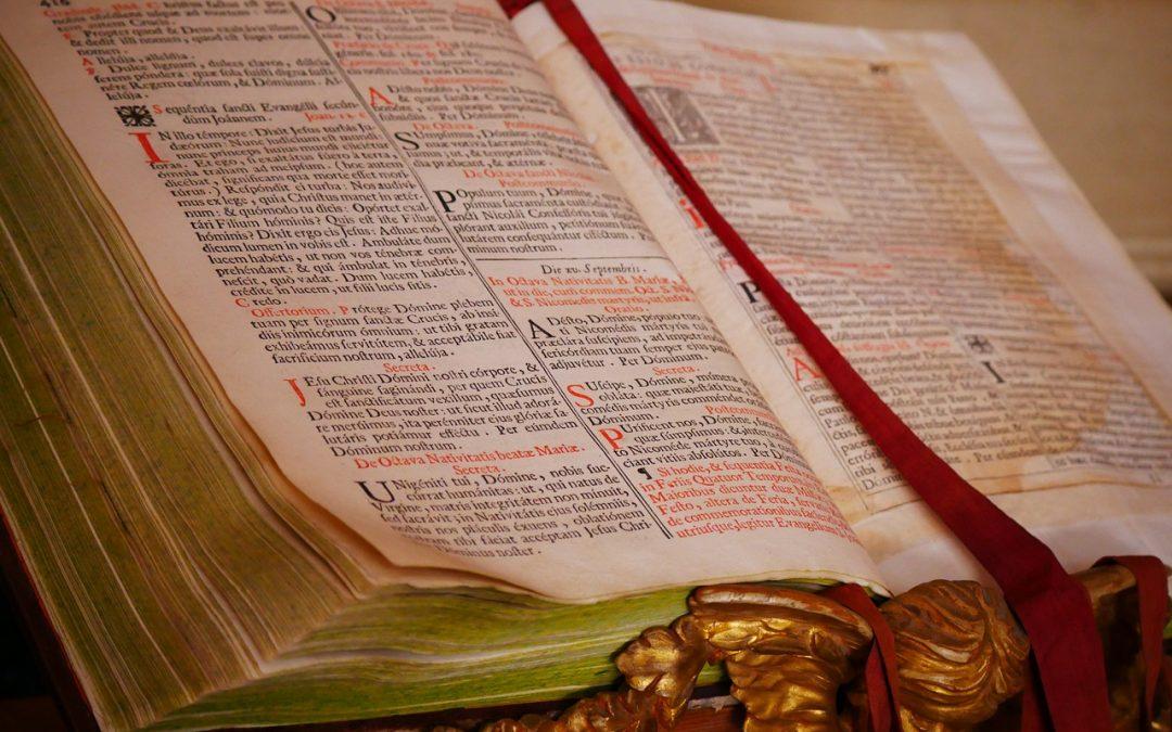 Signet des livres bibliques