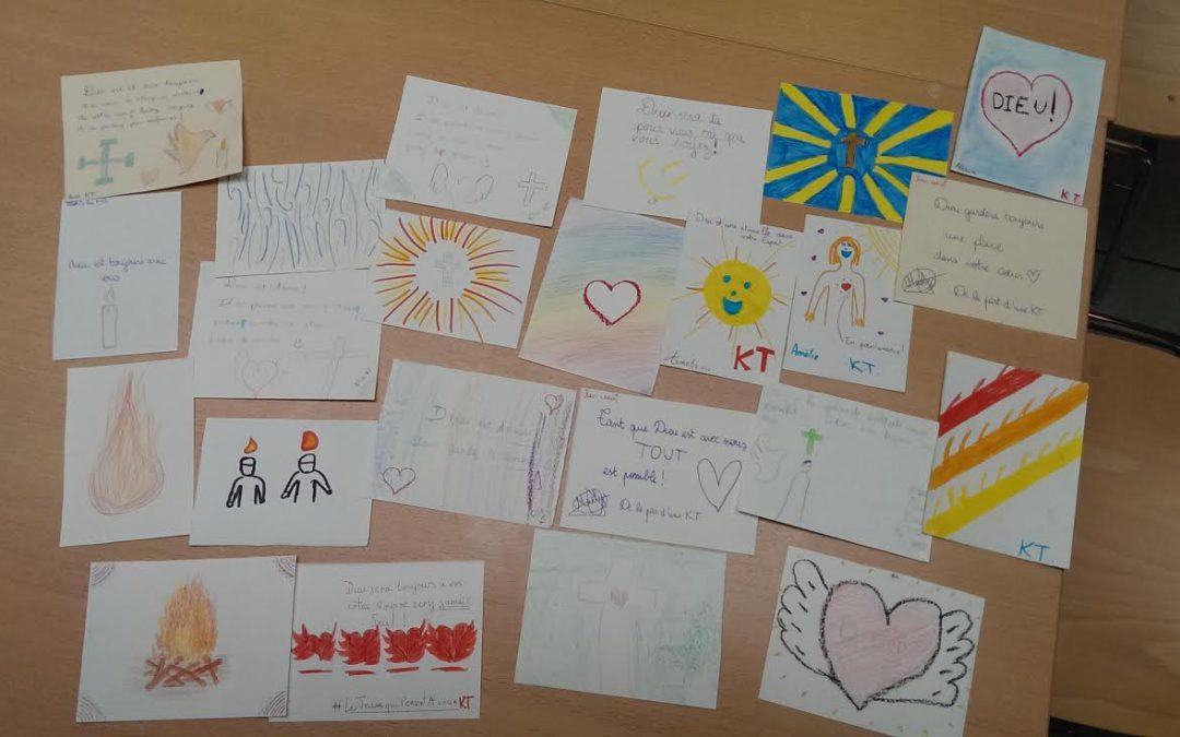 Cartes de vœux pour la Fête de Pentecôte