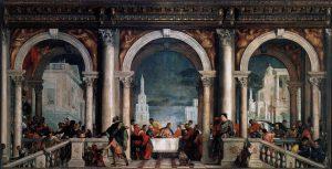 Véronèse «Le repas chez Lévi» – un approche pour parler de la Sainte Cène au KT