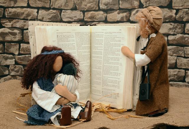 Une journée très animée chez Joseph, Marie et leurs enfants