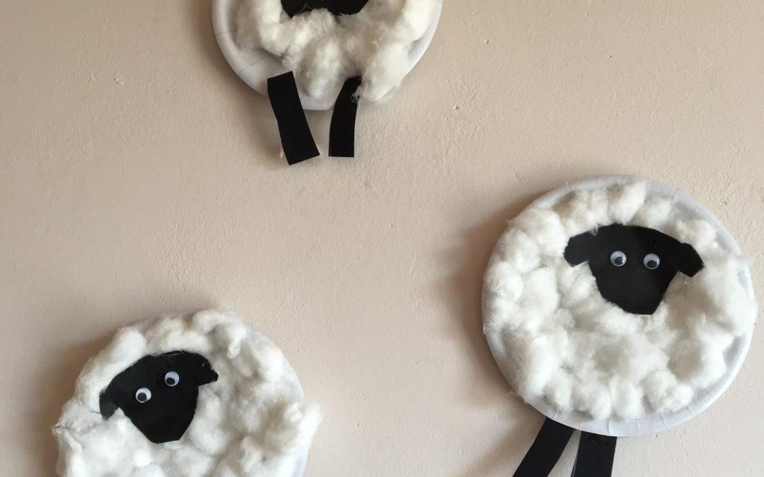 Moutons en coton