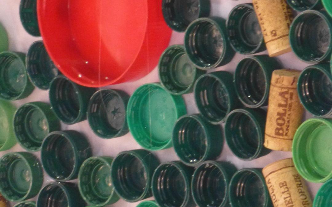 Bouchons recyclés