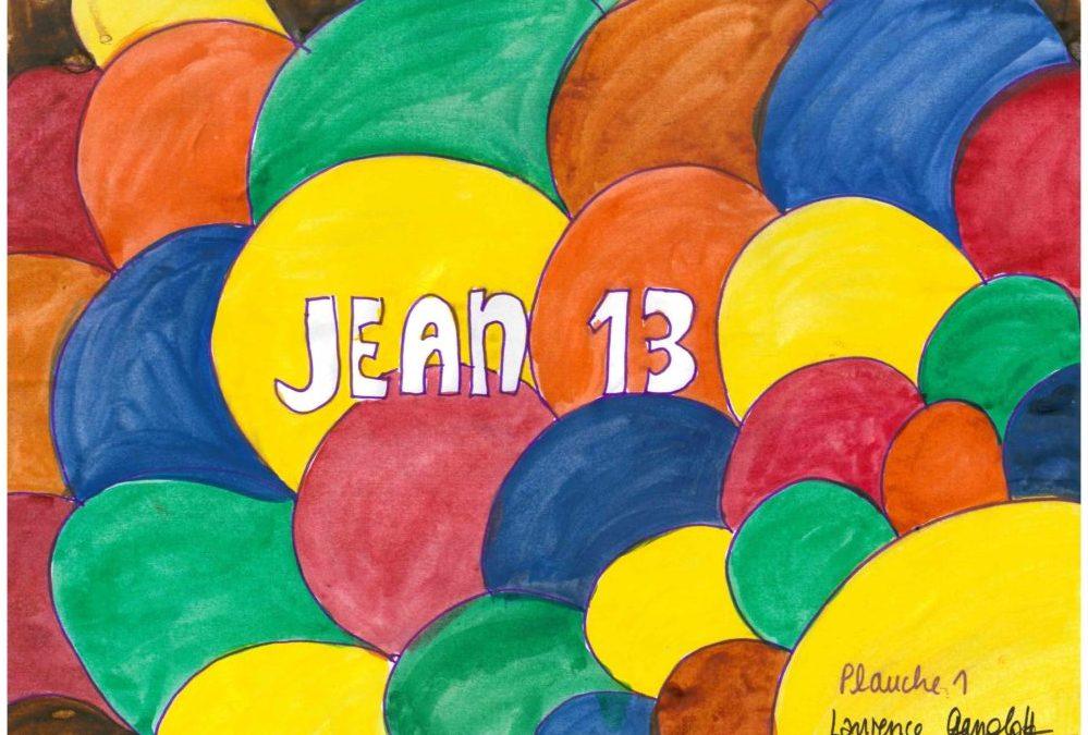 Kamishibai maison : Jean 13