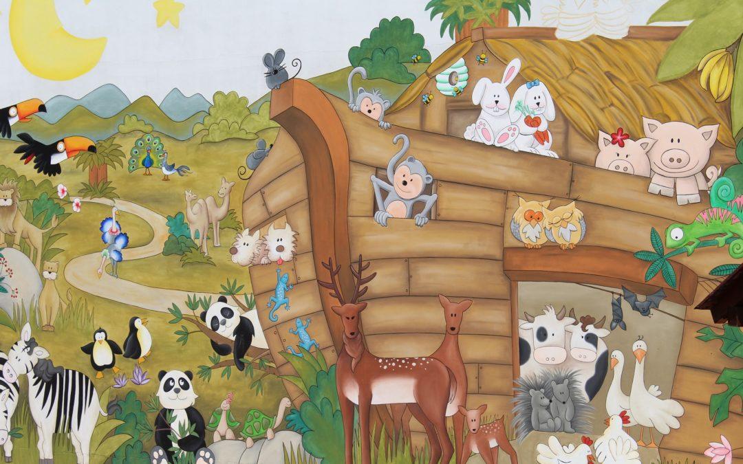 Découvrir l'arche de Noé à domicile