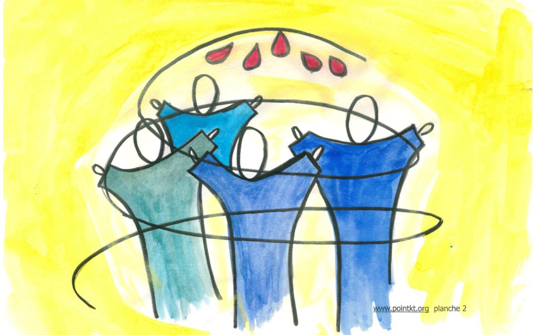 Kamishibaï maison : Actes 2 -Pentecôte