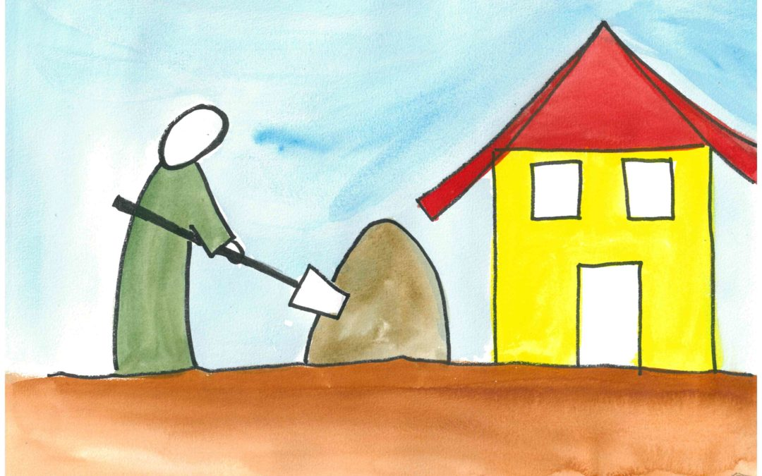 Kamishibaï maison : bâtir sur le roc