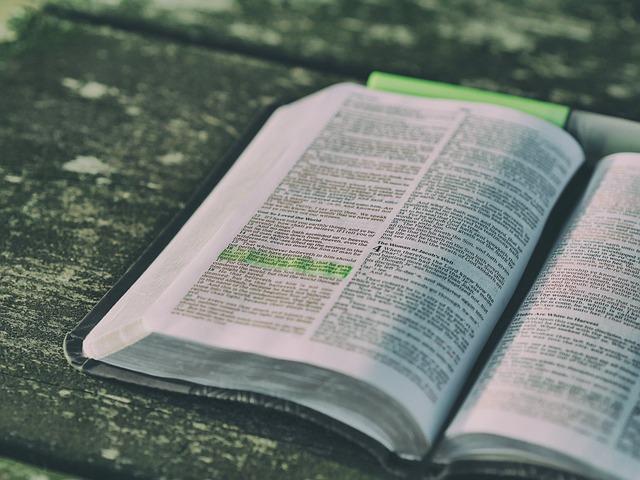 Un verset biblique pour la vie