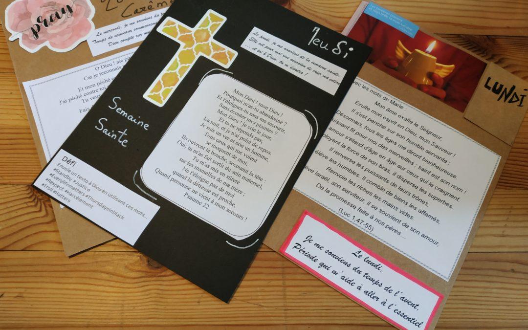 Carnet de prières pour les fêtes chrétiennes